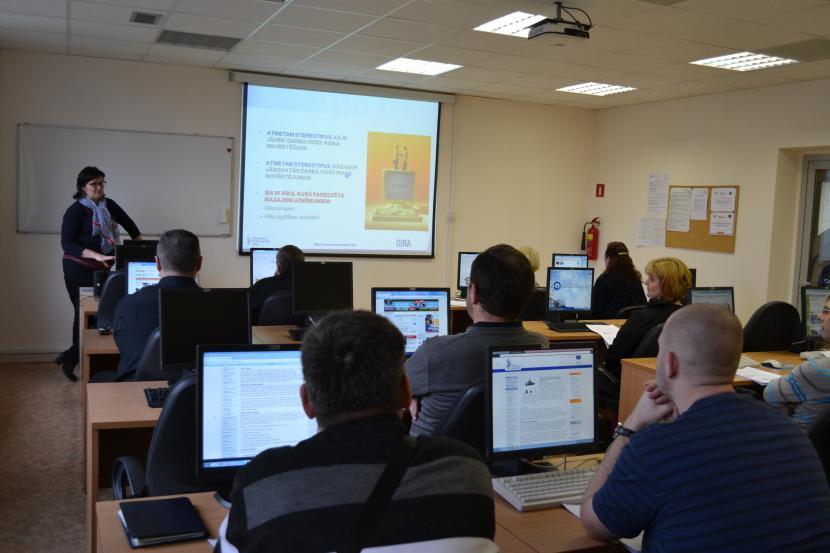 Semināri par interaktīvo tiešsaistes rīku darba vides risku novērtēšanai - OiRA