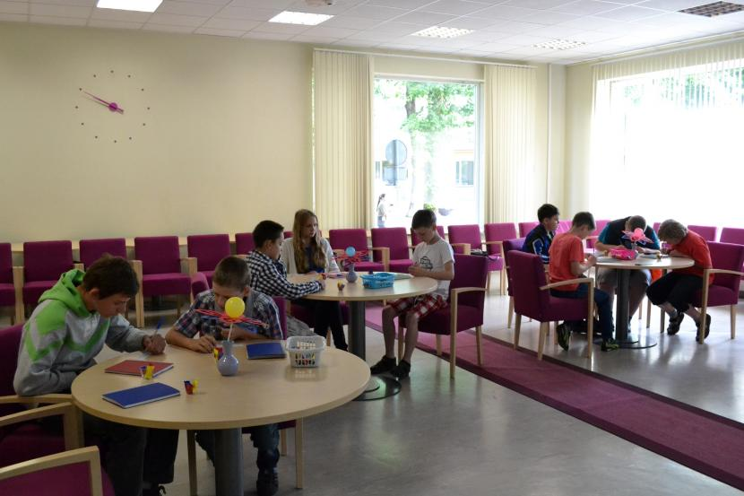 Interaktīva mācīšanās angļu valodas vasarnīcā