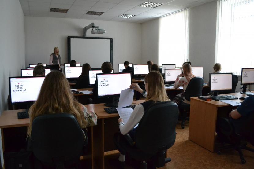 Angļu valodas olimpiāde – konkurss Jelgavas un Šauļu pilsētu skolēniem