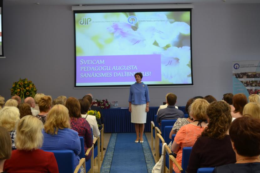Jelgavas pilsētas pedagogu augusta sanāksme 2015