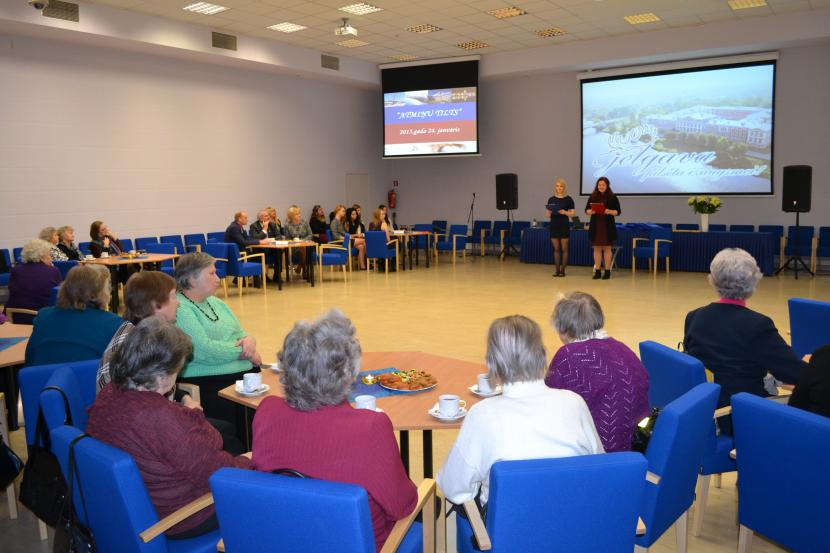 Jelgavas 750 gadu jubilejas atmiņu pēcpusdiena Jelgavas skolotājiem – senioriem