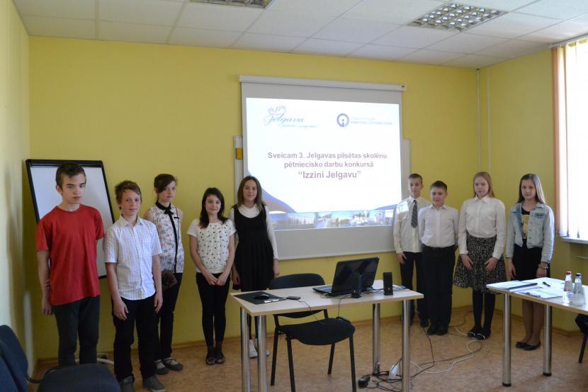 """3. Jelgavas pilsētas skolēnu radošo un pētniecisko darbu konkurss """"Izzini Jelgavu"""""""