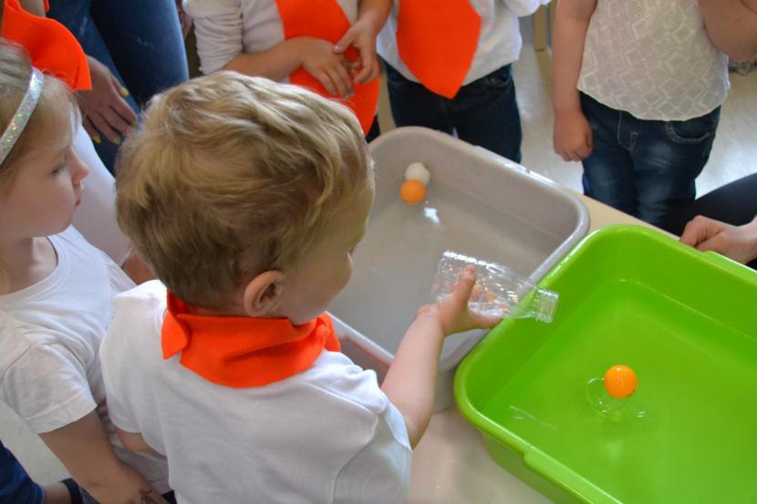 """Konkurss bērnudārzu audzēkņiem """"Mācies eksperimentējot!"""""""