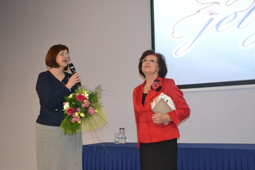 Iedvesmas telpā viesojas aktrise Olga Dreģe