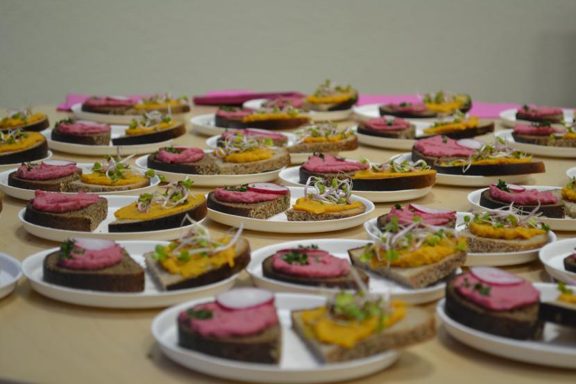 "Lindas Vilmansones meistarklase ""Rudens krāsas ēdienā"""