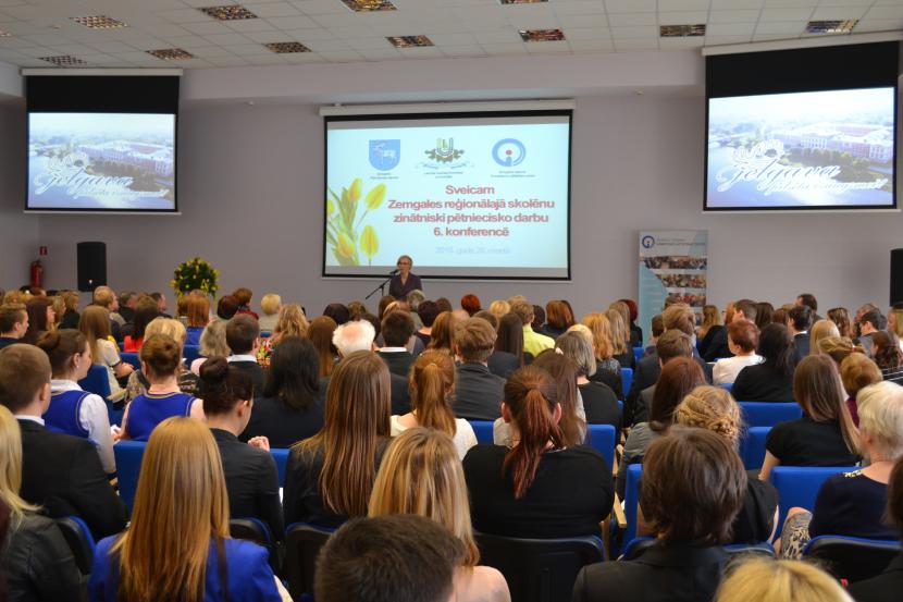 Zemgales reģiona skolēnu zinātniski pētniecisko darbu 6. konference