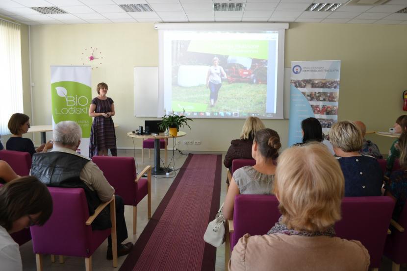 """""""Bioloģiskās sarunas"""" - lekcija-diskusija par bioloģisko pārtiku"""