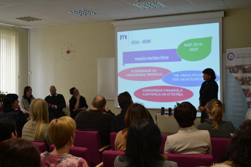 Iedvesmas lekcija Finanšu nedēļas ietvaros Jelgavā