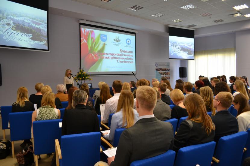 7. Zemgales reģiona skolēnu zinātniski pētniecisko darbu konference