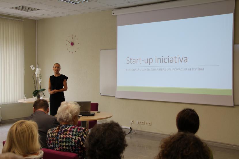 Reģionālo inovāciju un uzņēmējdarbības attīstības Start-up iniciatīvas seminārs uzņēmējiem