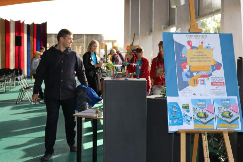 """Konkurss """"Zinātne uz skatuves-Latvija"""""""