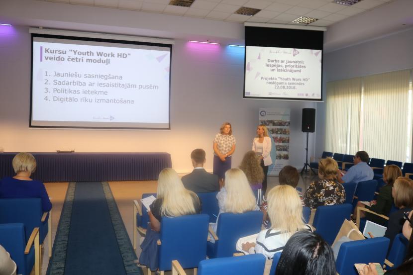 """Seminārs """"Darbs ar jaunatni: iespējas, prioritātes un izaicinājumi"""""""