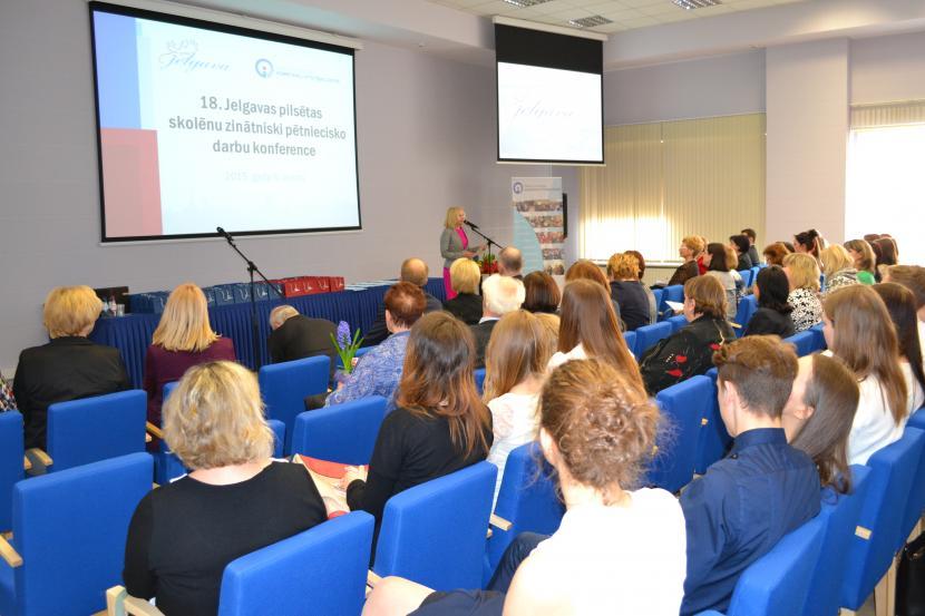 18. Jelgavas pilsētas skolēnu Zinātniski pētniecisko darbu konference